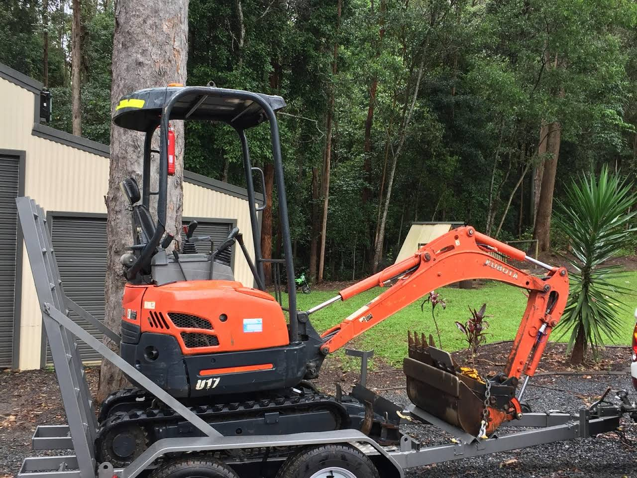 Kubota U17 Mini Excavator - Diy_Mini_Diggers